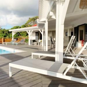 Marie Galante villa bains de soleil