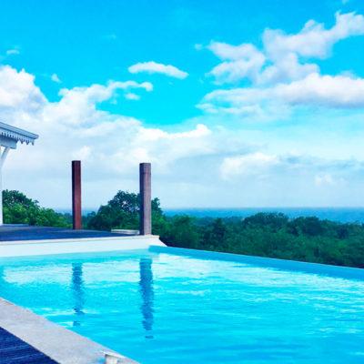 Marie-Galante villa coco caline piscine