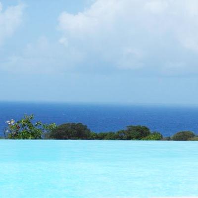 Marie-Galante Villa Coco Caline vue piscine
